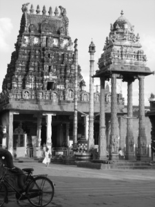 Varadaraja Perumal temple in Kanchipuram, 75km from Chennai