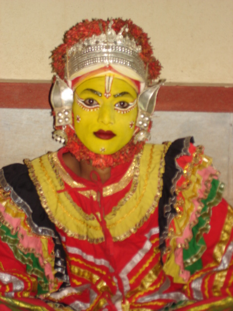 Bhutaradhane Dancer, Udupi