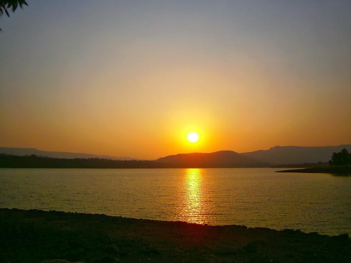 Sunset at Kamshet