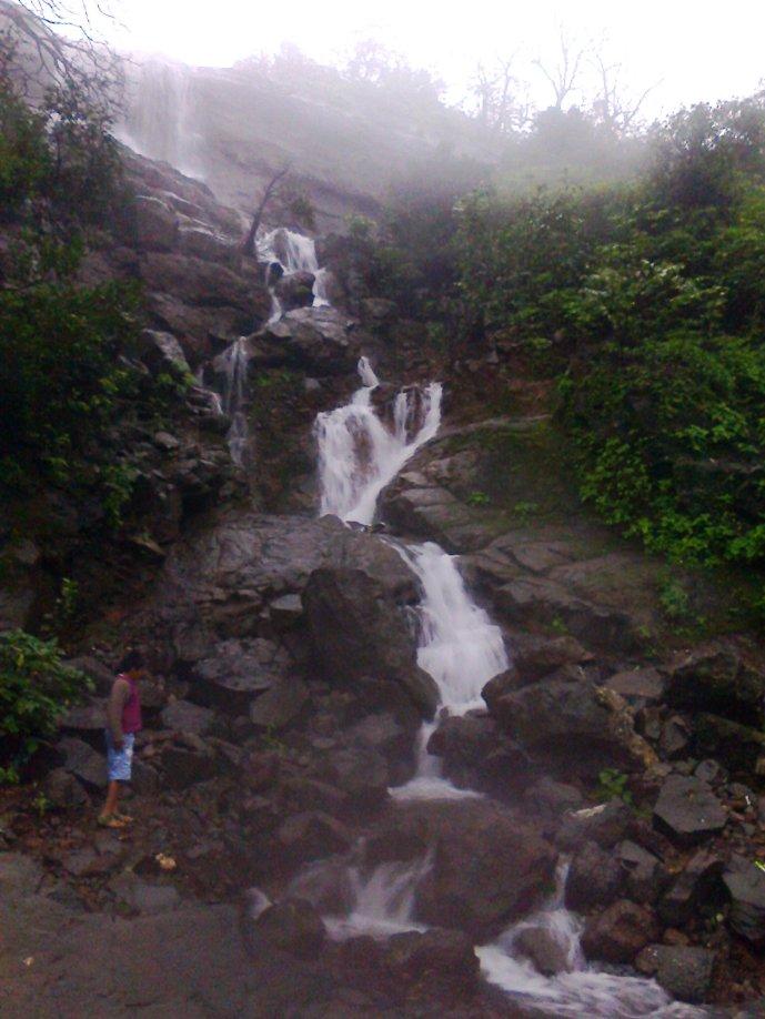 waterfalls at malshej