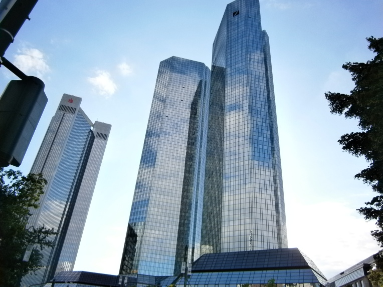 Frankfurt business district